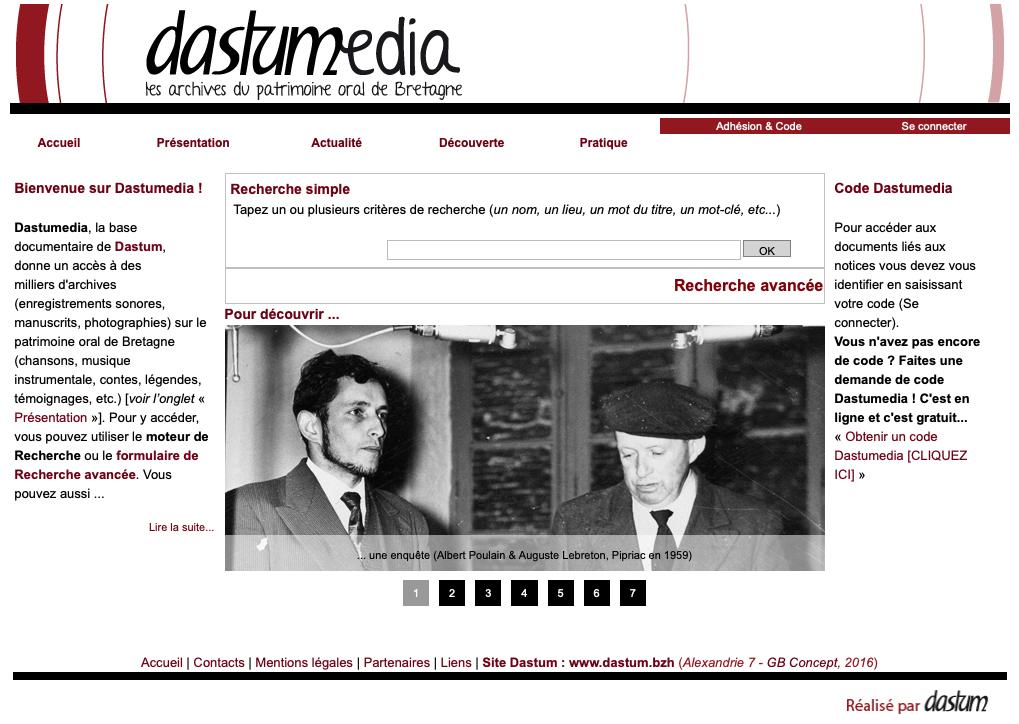 La barre des 4000 membres consultants de Dastumedia a été franchie en ce début d'année!
